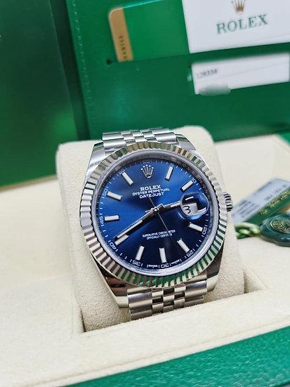 Rolex Datejust 41mm Blue Dial