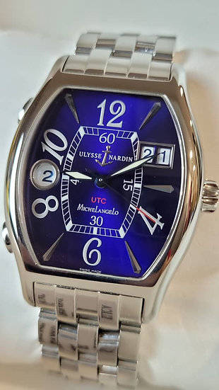 Ulysse Nardin Michelangelo UTC Dual Time GMT