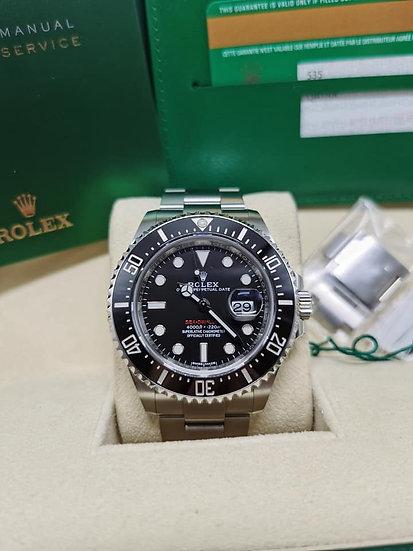 Rolex sea dweller single red 126600 mark 1