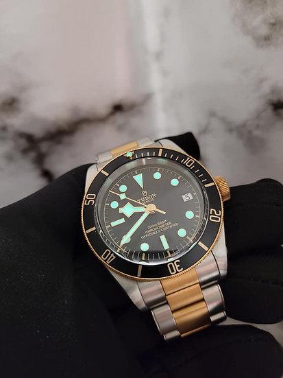 Tudor Black Bay S&G 18k Half Gold 41mm