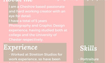 Megan Griffiths Creative CV