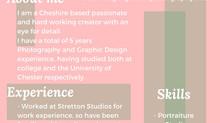 Megan Griffiths Creative CV