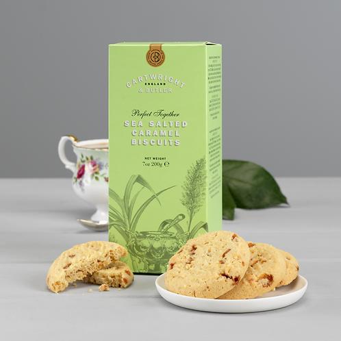 Cartwright & Butler Salted Caramel Biscuits (Carton)