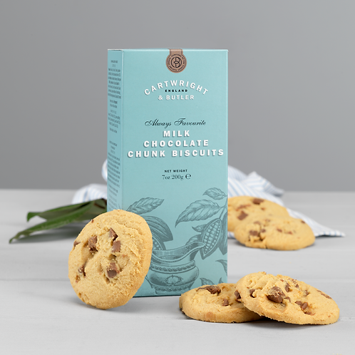 Cartwright & Butler Milk Chocolate Chunk Biscuits (Carton)