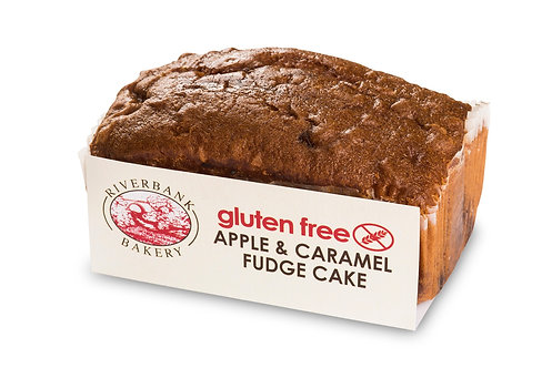 Riverbank Bakery Apple & Caramel Fudge Cake (Gluten Free)