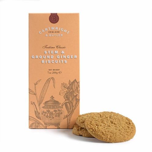 Cartwright & Butler Stem Ginger Biscuits (Carton)