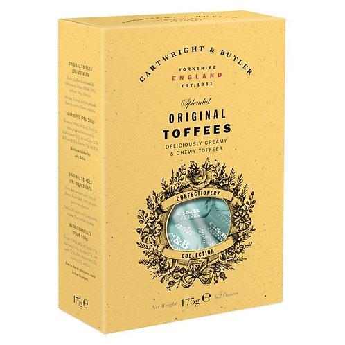 Cartwright & Butler Original Toffees in Carton
