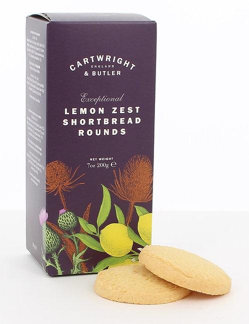 Cartwright & Butler Lemon Zest Shortbread (Carton)
