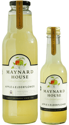 Mayndards Apple & Elderflower Juice