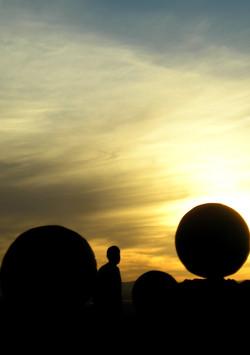 Coucher-de sphères