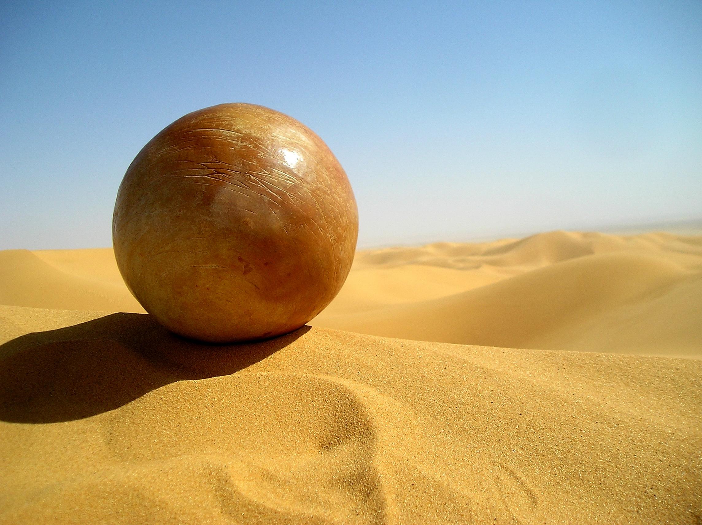 Sphère-dunes