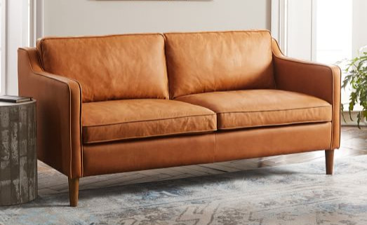 Leather cushion replacement