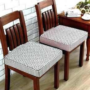 Loose cushions for dining chairs