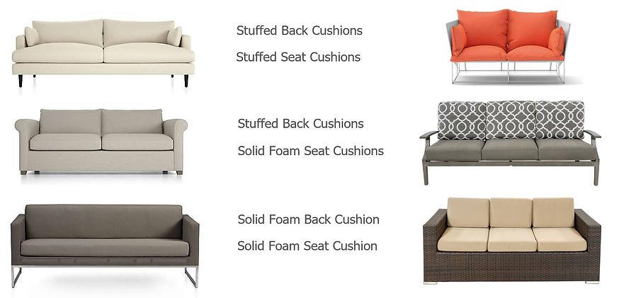 cushion foam, high density foam, cushion refilling, couch cushion foam, fibre filling