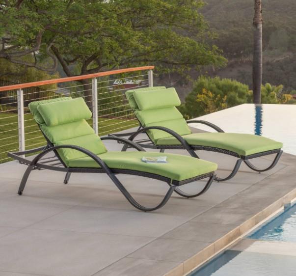 Pool lounger Cushions