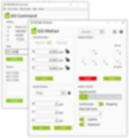 PRECIBEO GO Motion Apps, GO Motion & GO Command