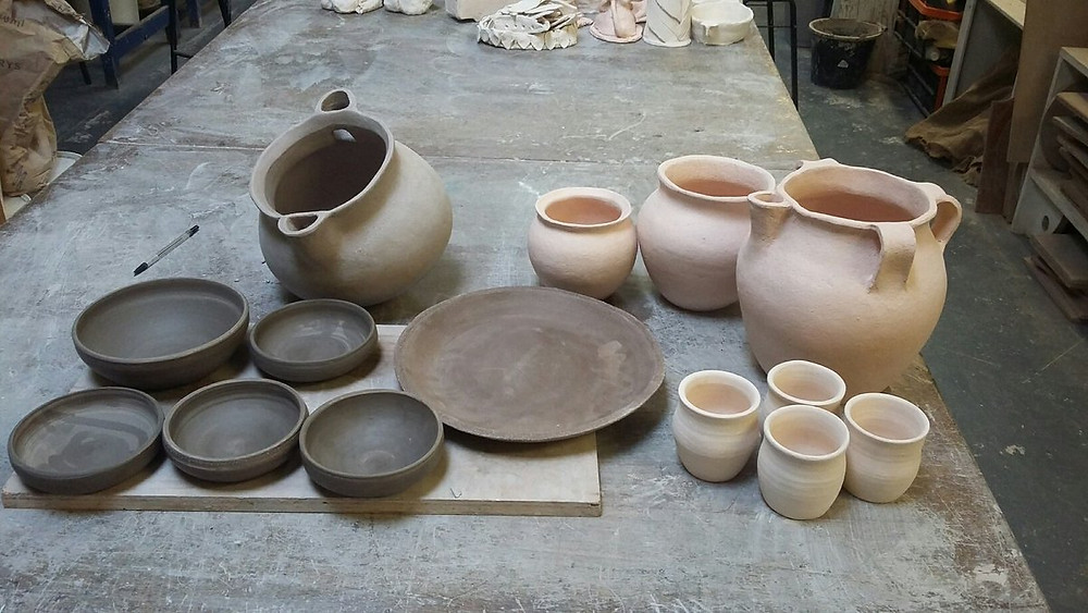 Pottery by Lee Steele (thepotterman.co.uk)