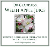 Dr Grandad's Welsh Apple Juice
