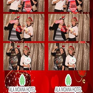 ALA MOANA HOTEL HOLIDAY PARTY 12/4/17