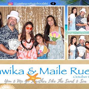 Ruelas Wedding, Kawika & Maile