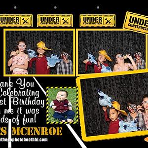 James McEnroe's 1st Birthday