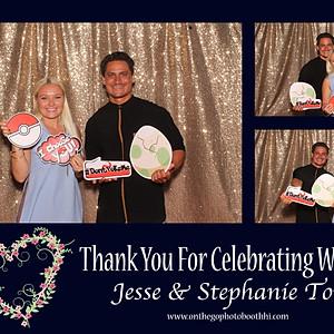 JESSE & STEPHANIE TORYʻs Wedding
