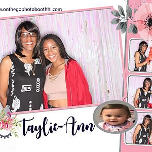 Taylie Ann's First Birthday