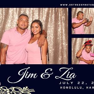 JIM & ZIA TORRES wedding