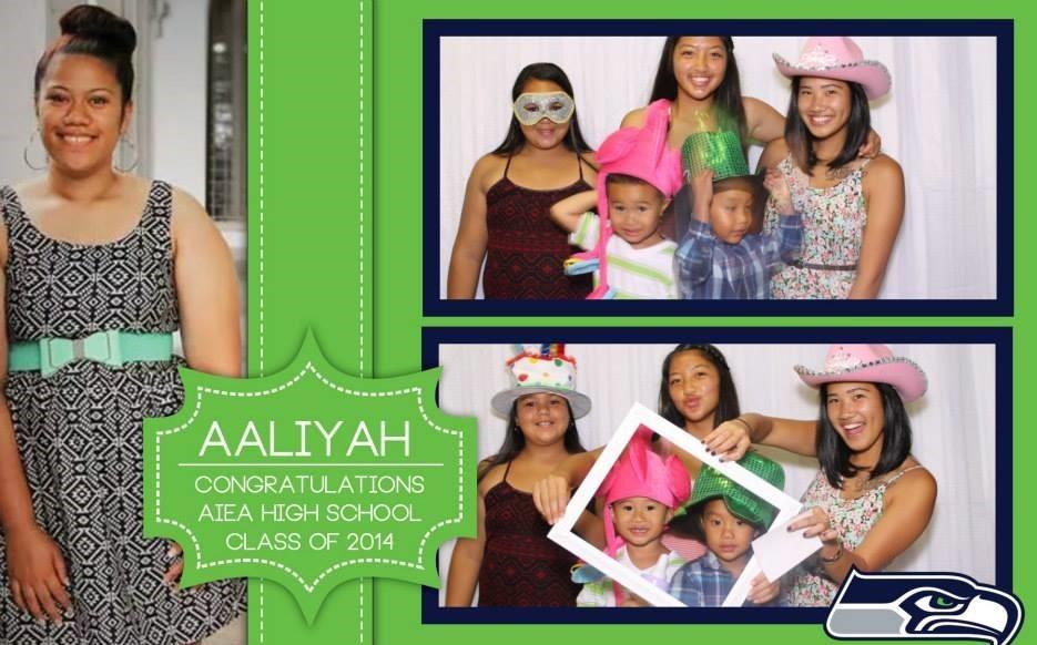 AALIYAH'S GRAD PARTY