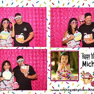 HAPPY 1st BIRTHDAY MICHAELA
