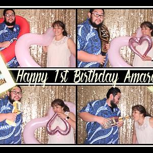 Happy 1st Birthday Amara
