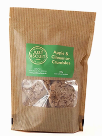 Apple & Cinnamon Crumbles by Just Biscuits