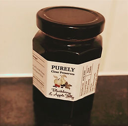 Blackberry & Apple Jelly By Purely Clear Preserves