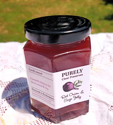Red Onion & Sage Jelly by Purely Clear Preserves