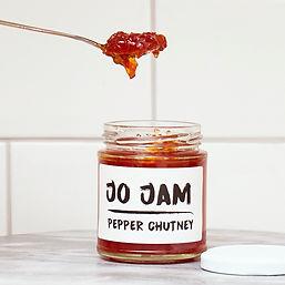 Red Pepper Chutney by Jo Jam