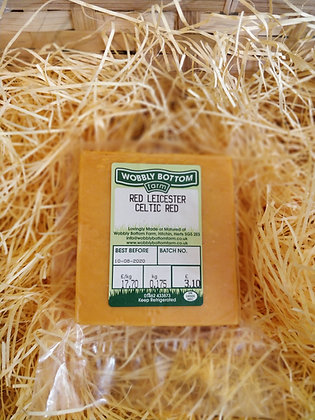 Red Leicester Celtic Red by Wobbly Bottom Farm