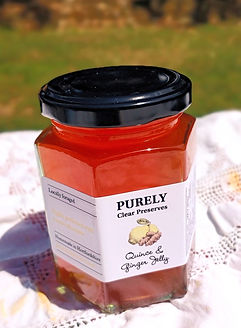 Quince & Ginger Jelly by Purely Clear Preserves