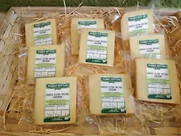 Smoked Extra Mature Cheddar by Wobbly Bottom Farm