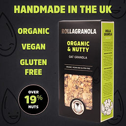 Organic & Nutty Granola By Rollagranola