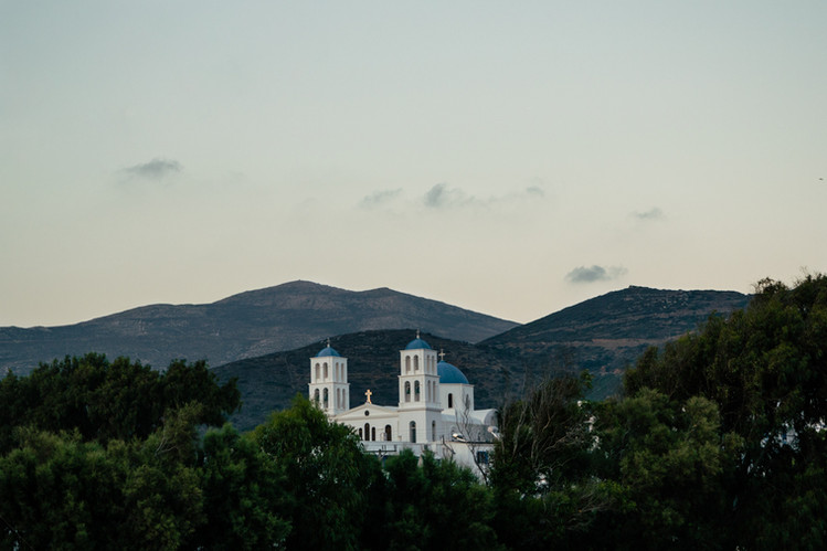 Katapola.  Amorgos, Grèce /// juillet 2018