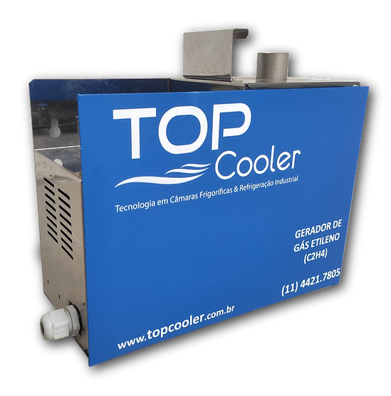Gerador de gás etileno Top Cooler - Amad
