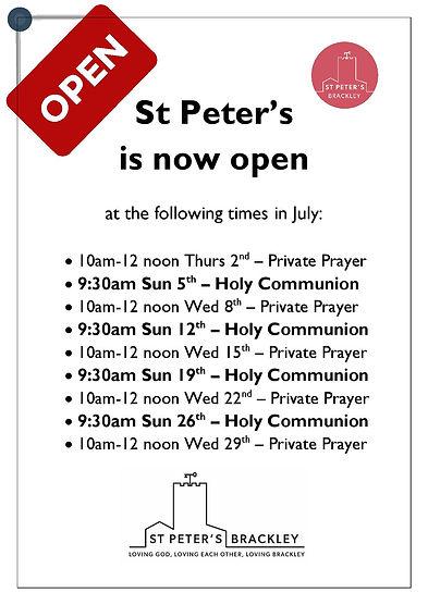 St Peter's is now open.jpg