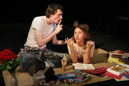 Production Photo // Nat Cassidy & Sara Farrington // Directed by Melissa Firlit