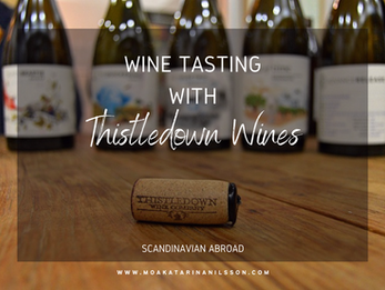 Wine Tasting with Australian Thistledown Wines