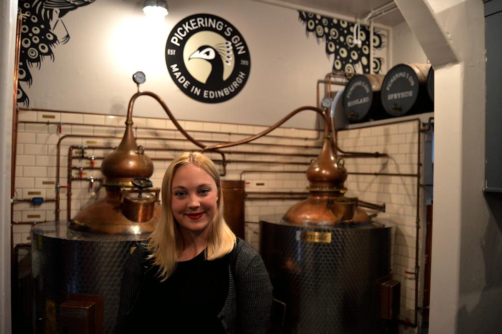 gin jolly tour at pickings gin
