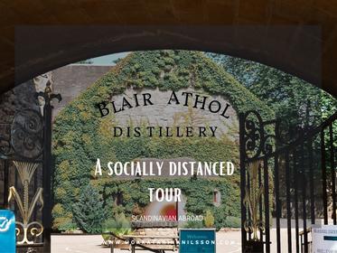 Distillery Visit: A socially distanced tour at Blair Athol