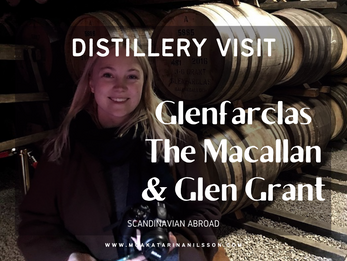 Speyside Distillery Visits: Glenfarclas, The Macallan & Glen Grant