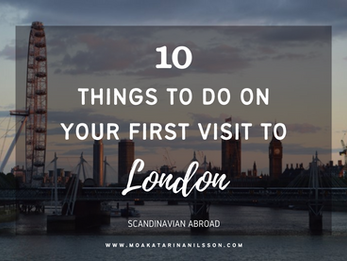 Top 10 things to do in London on your first visit