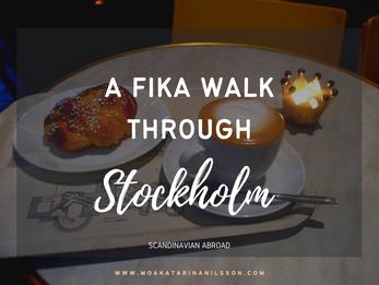 Stockholm guide: Fika Walk