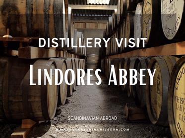 Distillery Visit: Lindores Abbey Distillery